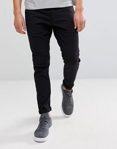 Черные суперузкие джинсы G-Star D-Staq 3D - Черный