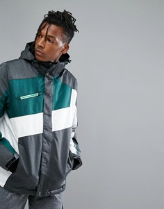 Горнолыжная куртка с капюшоном Killtec Makaio - Зеленый