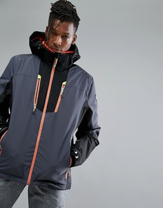 Горнолыжная куртка с капюшоном Killtec Simen - Серый