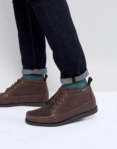 Коричневые кожаные ботинки Eastland Seneca - Коричневый