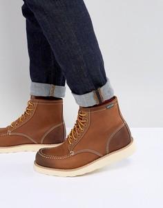 Светло-коричневые кожаные ботинки Eastland Lumber Up - Рыжий