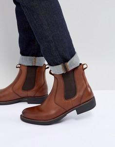 Светло-коричневые кожаные ботинки челси Eastland - Коричневый