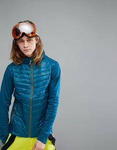Дутая горнолыжная куртка Dare2b Transfuse Hybrid - Синий