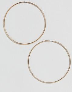 Серьги-кольца ASOS XL 90 мм - Золотой