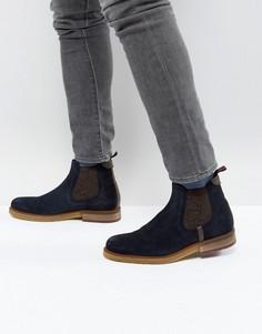 Замшевые ботинки челси Ted Baker Bronzo - Темно-синий