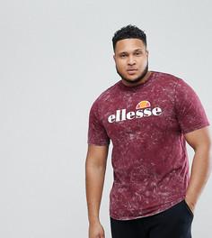 Красная выбеленная oversize-футболка Ellesse Plus - Красный
