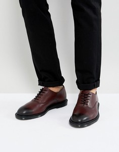 Вишнево-красные ботинки Dr Martens Fawkes Temperley - Красный