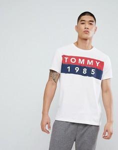 Белая футболка с логотипом Tommy Jeans 1985 - Белый Hilfiger Denim