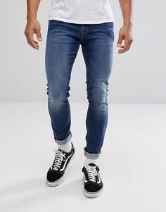 Светлые суженные книзу джинсы Tommy Jeans Steve - Синий Hilfiger Denim