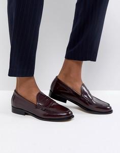 Кожаные сандалии ASOS MEZZO Premium - Красный