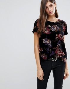 Топ с цветочным принтом Vero Moda - Мульти