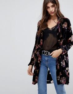 Легкое пальто с цветочным принтом Vero Moda - Мульти