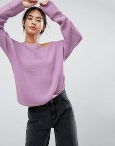 Джемпер Noisy May - Фиолетовый
