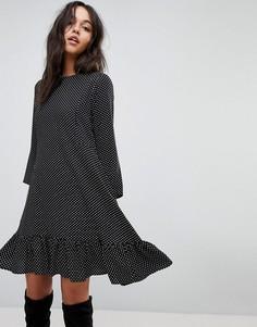 Платье в горошек Y.A.S - Мульти