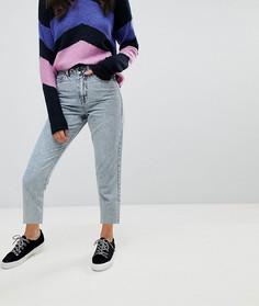 Джинсы в винтажном стиле с эффектом кислотной стирки Vero Moda - Синий
