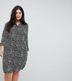 Платье-рубашка с принтом Missguided Plus - Мульти