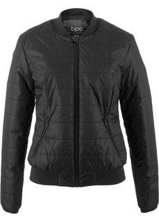Куртка на легкой ватной подкладке (черный) Bonprix