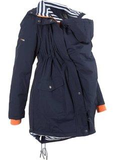 Куртка со вставкой для малыша (темно-синий) Bonprix