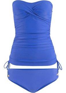 Купальный костюм-танкини (2 изделия) (синий) Bonprix