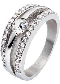 Кольцо из высокосортной стали (серебристый) Bonprix