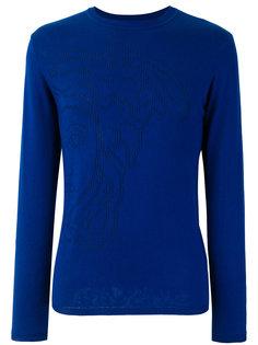 свитер с перфорацией  Versace Collection