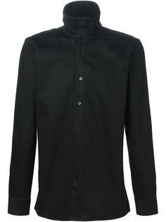 рубашка с высоким воротником  Raf Simons