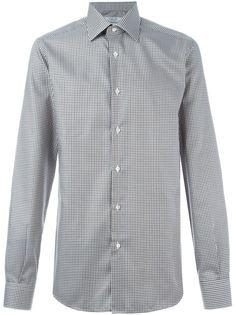 рубашка в клетку Oxford 70 Fashion Clinic Timeless