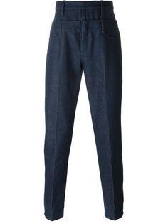 джинсы с двойным поясом  JW Anderson