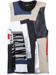 лоскутная футболка KTZ