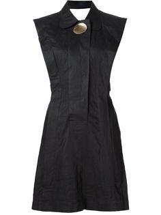 приталенное платье с брошью Opening Ceremony