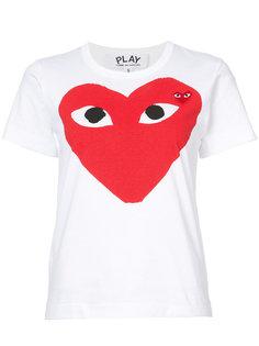 футболка с сердцем-логотипом Comme Des Garçons Play