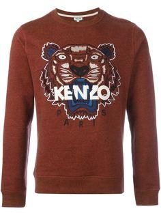 толстовка Tiger  Kenzo