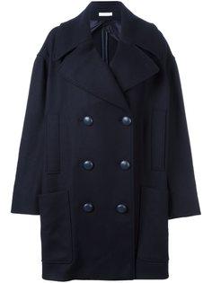объемное двубортное пальто JW Anderson