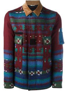 куртка с геометрическим узором Valentino