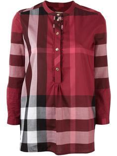 блузка в клетку Burberry