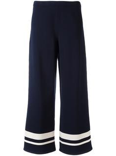 полосатые широкие брюки  S Max Mara