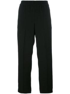 укороченные брюки с эластичным поясом  Tory Burch