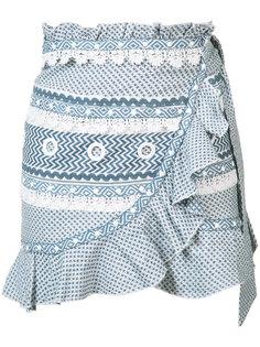 мини юбка с оборками Dodo Bar Or