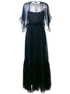 длинное платье шифт Nº21