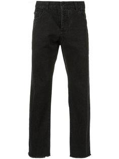 джинсы с необработанными краями Osklen