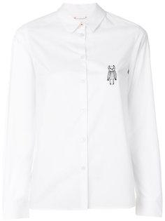 рубашка с вышитой совой Chinti & Parker