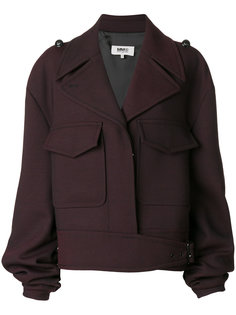 куртка с присборенными рукавами  Mm6 Maison Margiela