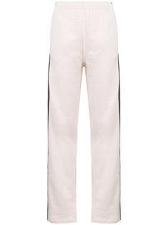 спортивные брюки с полоской по бокам Mm6 Maison Margiela