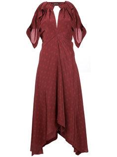 платье косого кроя Unity Kitx