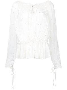 блузка Breakfree с узором в горох Kitx