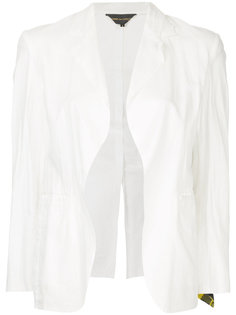 пиджак с отделкой в клетку Comme Des Garçons