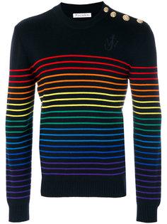 джемпер в разноцветные полоски JW Anderson