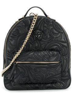 рюкзак с тисненым узором Versace