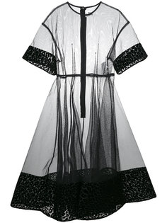 полупрозрачное платье  Comme Des Garçons Noir Kei Ninomiya