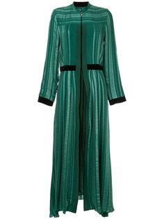 длинное расклешенное платье Zeus+Dione